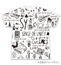 SY Tシャツ(総柄)フロント